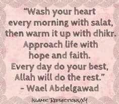 Good morning....