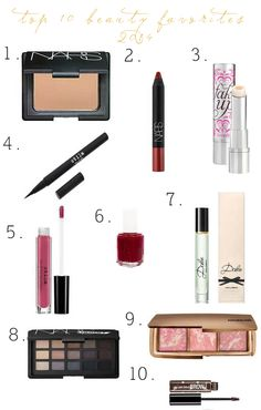 Style x Beauty Dept: Top 10 Beauty Favorites: {2014}