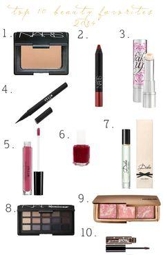 Style x Beauty Dept: Top 10 Beauty Favorites: {2014}