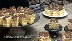prajitura vladut cu nuca si vanilie Romanian Desserts, Cake Recipes, Dessert Recipes, Food Cakes, Saveur, Beignets, Homemade Cakes, Cake Cookies, Tiramisu