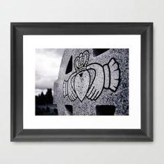 Claddagh closeup Framed Art Print by Vorona Photography   Society6