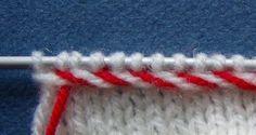 Tõstetud kirju nöör Knitting Videos, Free Knitting, Knitting Projects, Baby Knitting, Knitting Patterns, Knit Mittens, Mitten Gloves, Knitted Baby Clothes, Knit Crochet