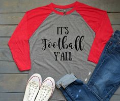 It's Football Y'all Tee Women's Football Shirt