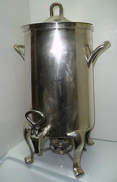 D.W. Harber & Son Hotel Silver Soldered 5Gal Millenniuim Tapered Coffee Urn
