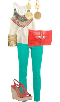 Amanda Rileys Aztec Chic 3, created by lizzylou22 on Polyvore