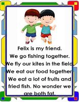 English reading passages with basic sight words for kid's reading practice. Use it as reading chart for your remedial reading activities. First Grade Reading Comprehension, Grade 1 Reading, Phonics Reading, Reading Comprehension Worksheets, Reading Passages, Kids Reading, Card Reading, Teaching Reading, Kindergarten Reading Activities
