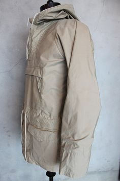 Blacks of Greenock, Ventile anorak. Excellent vintage condition for a 40-50 year old jacket. (Personal collection).