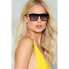 Nasty Gal On My Level Square Shades (€14) ❤ liked on Polyvore featuring accessories, eyewear, sunglasses, black, square glasses, square frame sunglasses, nasty gal, square sunglasses and square frame glasses