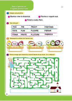 Comunicare in limba romana - Clasa Pregatitoare Periodic Table, Map, School, Health, Kids, David, Child, Young Children, Periodic Table Chart