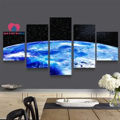 Diamond embroidery landscape universe Diamond painting full square mosaic painting Diamond embroidery triptych Pictures crystals #Affiliate
