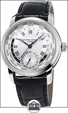 Frederique Constant Geneve Worldtimer Manufacture FC-718MC4H6 Reloj Automático para hombres Calibre de Manufactura  ✿ Relojes para hombre - (Lujo) ✿
