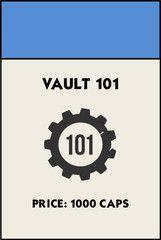 Monopoly Card Fallout Vault 101 T Shirt