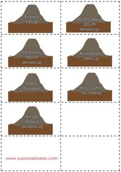 The Seven Highest Peaks on Earth (C1, W15)