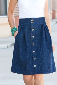 Anywhere Skirt-One Little Minute Blog-3