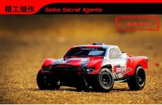 156.04$  Watch more here - http://aioe8.worlditems.win/all/product.php?id=32733465355 - 1/10 Brushless 2.4G 4WD RC Electric Radio control top speed racing truck, Off Road car Confrontation with Traxxas Slash rc cars