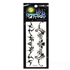 Lace Pattern Design Waterproof Temporary Tattoo Sticker Paper