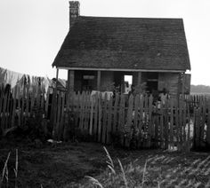 Sharecropper cabin - Mississippi in 1937