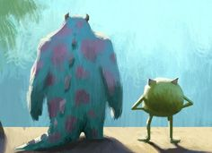 Monsters University. Concept Art. © Disney Pixar