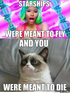 """""""Cats are funny. Grumpy cats are insane."""" Grumpy cats are serious and funny. Funny memes featuring grumpy cats have been curated in one place. Funny cat memes for leisure. Grumpy Cat Quotes, Grumpy Cat Memes Clean, Cat Jokes, Grumpy Cat Humor, Funny Cat Memes, Funny Cats, Funny Sarcastic, Funny Cat Pics, Grumpy Cat Good"""