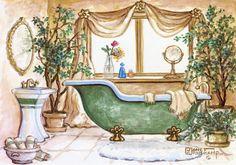 banheiros antigos - Pesquisa Google
