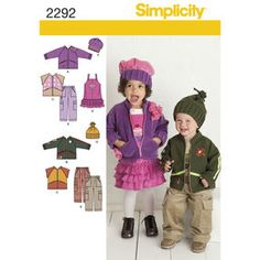 Find a pattern for Toddlers' Sportswear at Simplicity, plus many more unique patterns. Simplicity Sewing Patterns, Boy Outfits, Sportswear, Family Guy, Toddlers, Boys, Unique, Creative, Fictional Characters