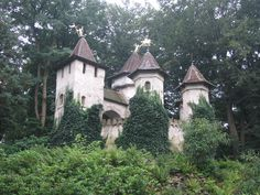 The Castle of Doornroosje (Sleeping Beauty), in the Sprookjesbos (Fairy Tale Forest)