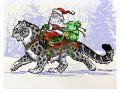 Fantasy Santa by M-Skirvin on deviantART
