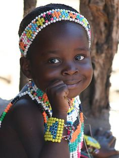 Smile from Botswana girl