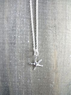 Starfish Necklace Starfish Necklace, Sterling Silver Jewelry, Jewellery, Animal, Inspired, Inspiration, Biblical Inspiration, Jewels, Jewelry Shop