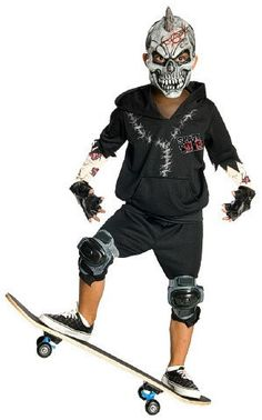Facepaint Skater Boy's Costume