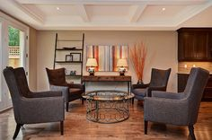 via Houzz.com design by MYHome | Auberge Chairs
