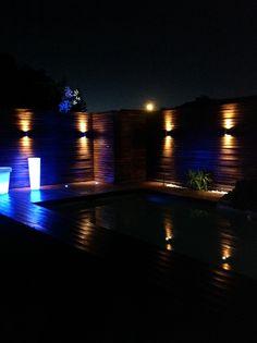 Terraza nocturna...