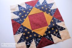 Union Square Variation from Quilters Cache