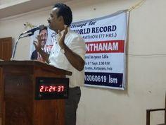 Binu Kannanthanam from Kerala is about to set a World Record.