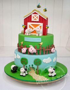 barnyard cakes | Barn Cake