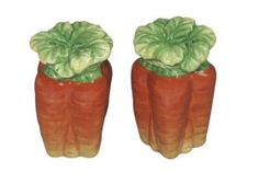 Bunches of Carrots Salt & Pepper Shakers Set