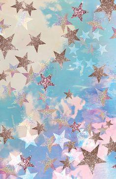 bestonlinecreations: Starry Eyed by Nikki strange Alluka Zoldyck, Desu Desu, Starry Eyed, Canvas Prints, Art Prints, Pretty Pastel, Stars And Moon, Night Stars, Wall Collage