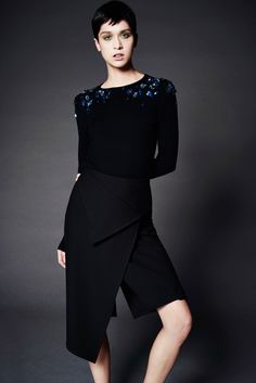 See the complete Zac Posen Pre-Fall 2016 collection.