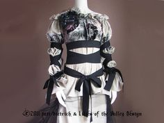 Renaissance Blouse Gothic Dress Goth Blouse by PlusSizeClothing, $125.00