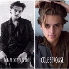 leonardo dicaprio, cole sprouse, and leo of course image