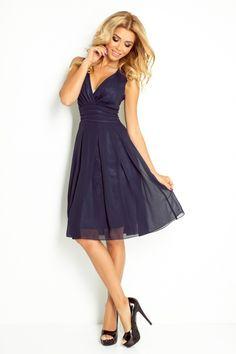 Szyfonowa sukienka NM-35-5