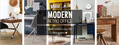 Modern Retro Office