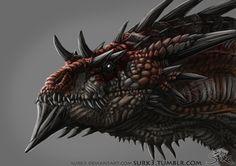 Dragon by Surk3