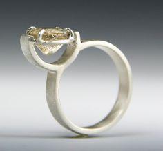 very unique engagement ring