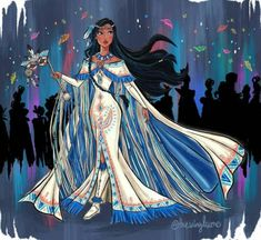 Disney Princess Fashion, Disney Princess Drawings, Disney Princess Art, Disney Princess Pictures, Disney Princess Dresses, Disney Dresses, Disney Pictures, Disney Drawings, Disney Pocahontas