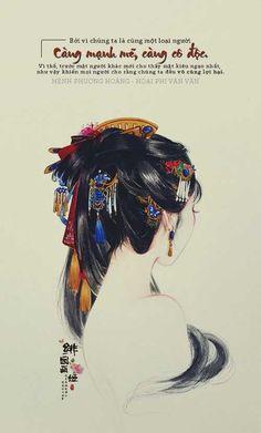 That's so perty Art Asiatique, China Art, Wow Art, Chinese Painting, Grafik Design, Traditional Art, Art Inspo, Art Girl, Art Drawings