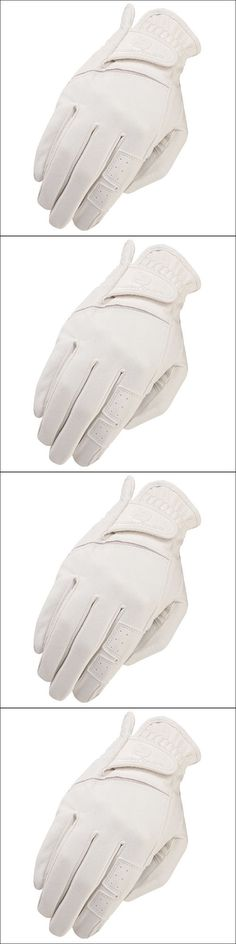 Riding Gloves 95104: 11 Size Heritage Gpx Show Horse Riding Equestrian Glove Leather White -> BUY IT NOW ONLY: $36.99 on eBay!