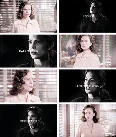 Agent Carter: but they won't.