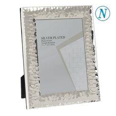 Κορνίζα απο ατσάλι 13χ18 Silver Plate, Plating, Frame, Decor, Picture Frame, Decoration, Silverware Tray, Decorating, Frames