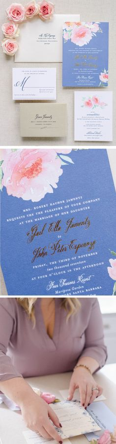 These modern wedding invitations are everything you need to share the   joy of your big  day and get guests excited for your wedding day.   #weddingideas   #weddinginvitations #weddinginvites #romanticweddings   #springwedding Blush Wedding Invitations, Dusty Blue Weddings, Boho Wedding Decorations, Romantic Weddings, Wedding Vendors, Summer Wedding, Wedding Planning, Weddingideas, Color Palettes